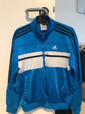 Adidas Chaqueta deportiva negro-azul