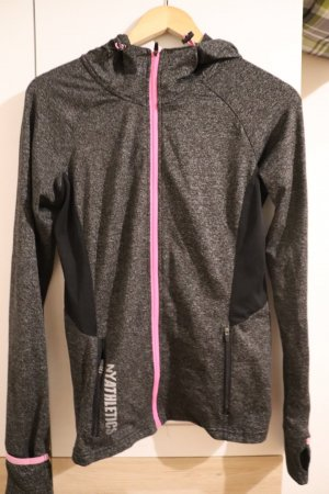 nyathletics Sports Jacket grey-pink