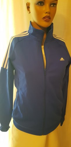Adidas Originals Giacca sport bianco-blu