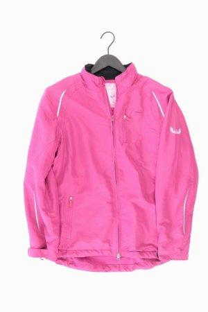 Sportjacke Größe 40/42 pink aus Polyester