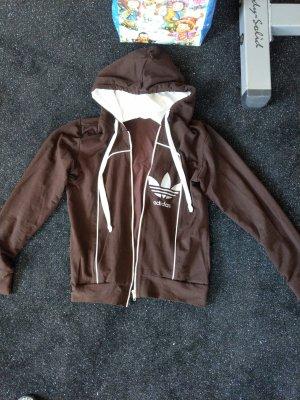 Adidas Chaqueta deportiva marrón
