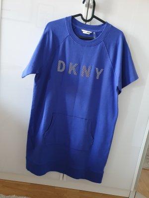 DKNY Robe Sweat bleu violet-bleu