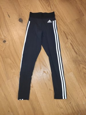 Adidas Trackies white-black