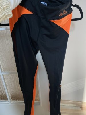 Ellesse Jeggings nero-arancio neon