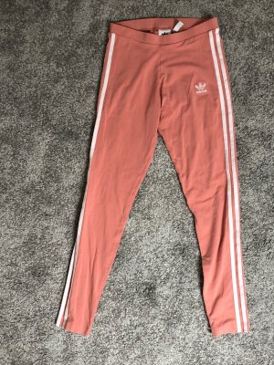 Adidas Pantalon fuseau or rose-blanc