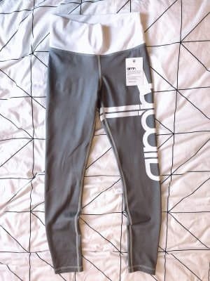 Aim'n Legging gris clair-blanc