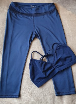 Active USA Leggings azul oscuro