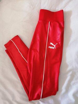 Puma Trackies white-red