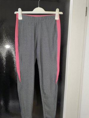 Crivit Leggings grey-pink polyester