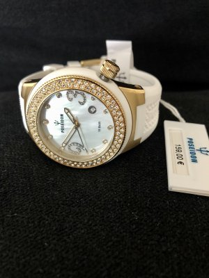 Kienzle Analog Watch white-gold-colored metal