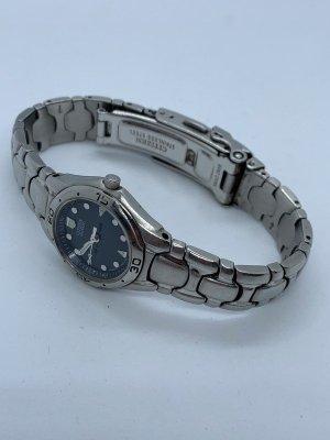 Citizen Horloge met metalen riempje lichtgrijs-donkerblauw