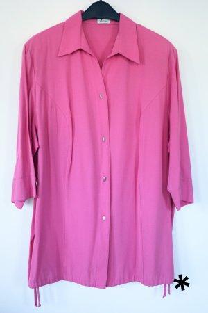 Sportlich elegante rosafarbene Bluse von Verpass