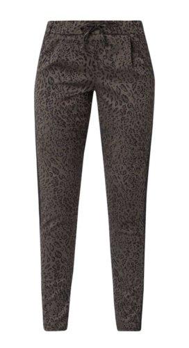 Coccara Spodnie khaki antracyt-czarny