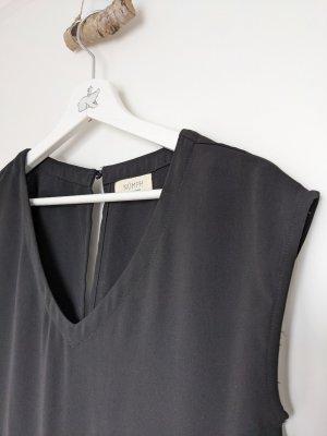 Nümph Langer Jumpsuit noir polyester