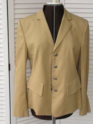 René Lezard Blazer in lana color cammello Cotone
