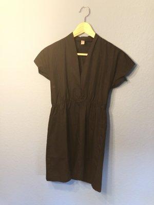 American Apparel Robe à manches courtes noir