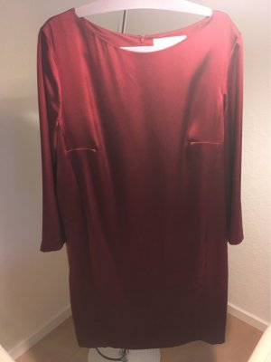 sportlich elegantes kurzes Kleid in Bardeaux