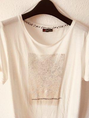 sportlich elegantes weißes T-Shirt