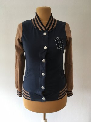 Only College Jacket brown-blue