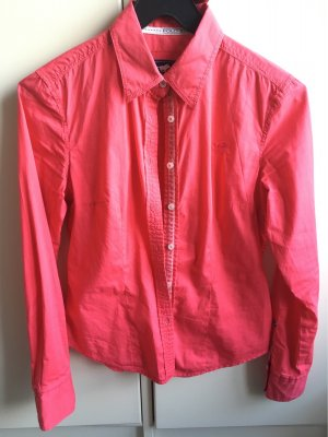 Polo sylt Long Sleeve Blouse red