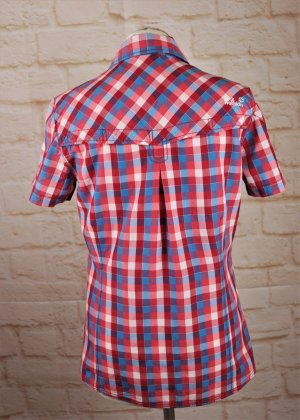 Jack Wolfskin Checked Blouse multicolored mixture fibre