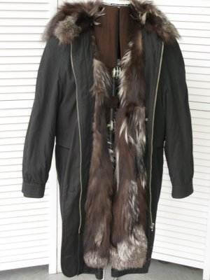 Hooded Coat black