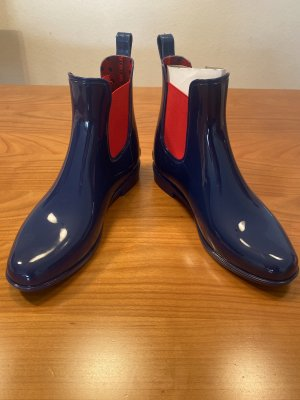 Polo Ralph Lauren Slip-on Booties blue-red