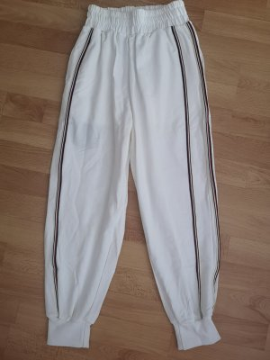 Zaful Pantalon large blanc