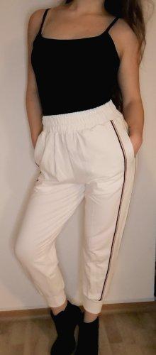 Zaful Pantalon large blanc