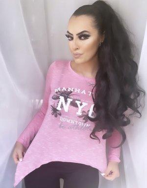 sportlich schickes shirt in rosa