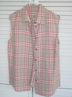Burberry Mouwloze blouse veelkleurig