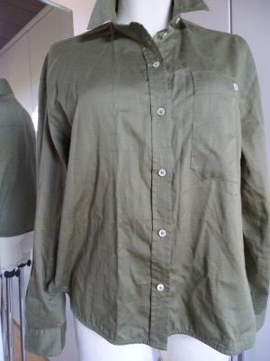 Marc O'Polo Long Sleeve Blouse khaki cotton