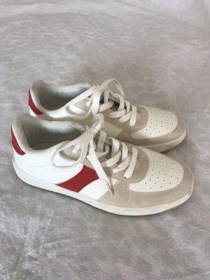 Sportliche Color Block Sneaker