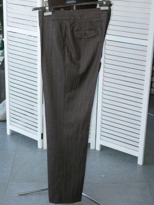 René Lezard Pantalone di lana talpa Lana vergine