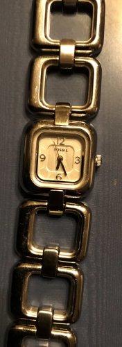 Fossil Orologio con cinturino di metallo argento
