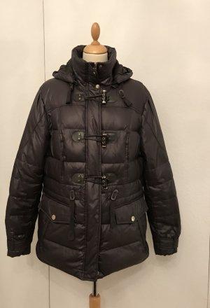 C&A Down Jacket brown nylon