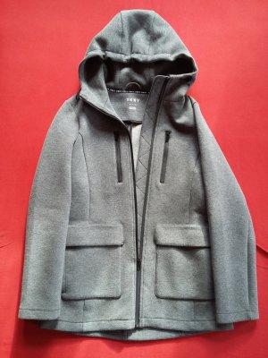 Sportliche graue Sweatjacke von DKNY