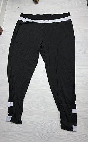 Pantalon de sport noir-blanc