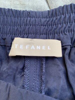 Stefanel Jersey Pants dark blue