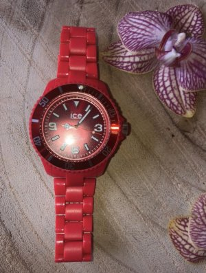 Ice watch Fermoir de montre rouge