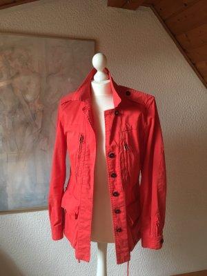 Zara Pilotenjack rood