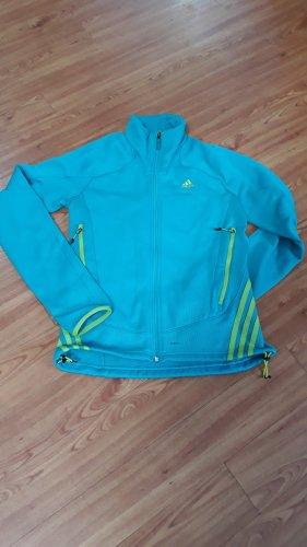 Adidas Veste d'extérieur turquoise-vert gazon