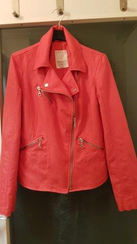 sportliche Jacke in Baumwolle/Leinen