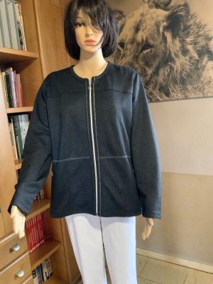 Sportliche Jacke mit Silberfäden