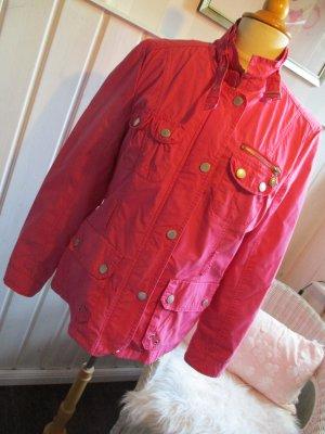 sportliche Jacke / Parker von Zabaione in Pink
