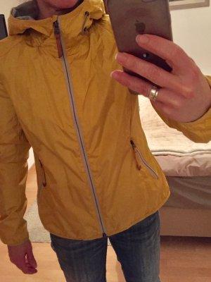 Camel Active Veste d'extérieur jaune-gris clair tissu mixte