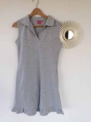 Polo Dress light grey