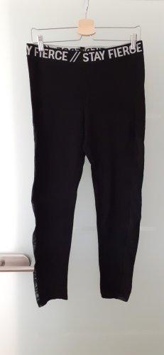 H&M Divided Leggings bianco-nero