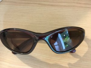 Alpina Ovale zonnebril bruin-lichtbruin