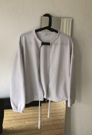 Zara Blouson white polyester